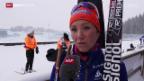 Video «Selina Gasparin vor dem Sprint» abspielen