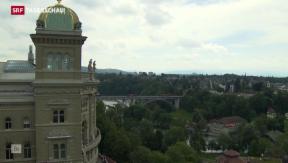 Video «Informationsaustausch gegen Schweizer Steuersünder» abspielen