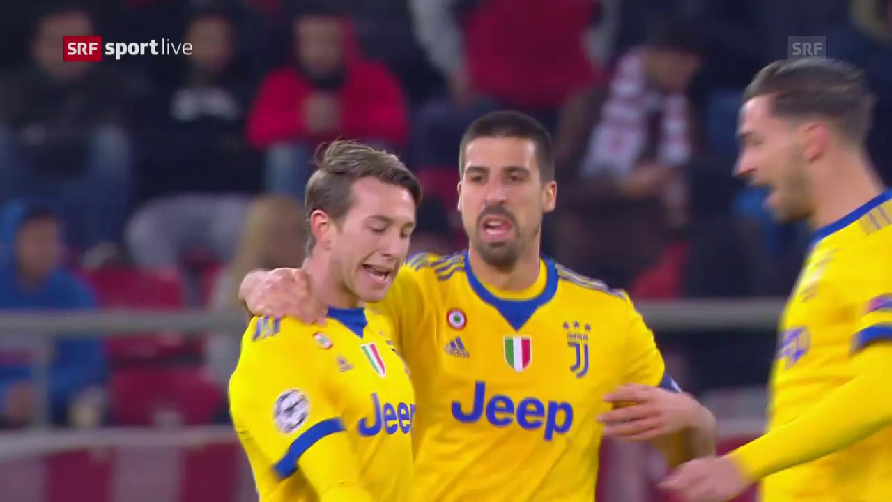 Juventus schlägt Olympiakos auswärts 2:0