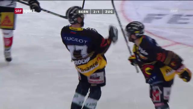 Eishockey: Bern - Zug («sportaktuell»)