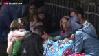 Video «Europas Flüchtlingsdrama ohne Aussicht auf ein Ende» abspielen