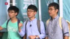 Video «Urteil gegen Hongkonger Studenten» abspielen
