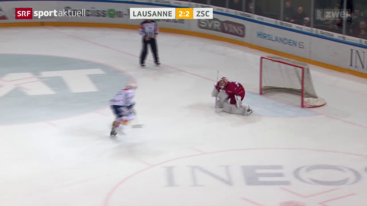 Eishockey: Lausanne - ZSC Lions