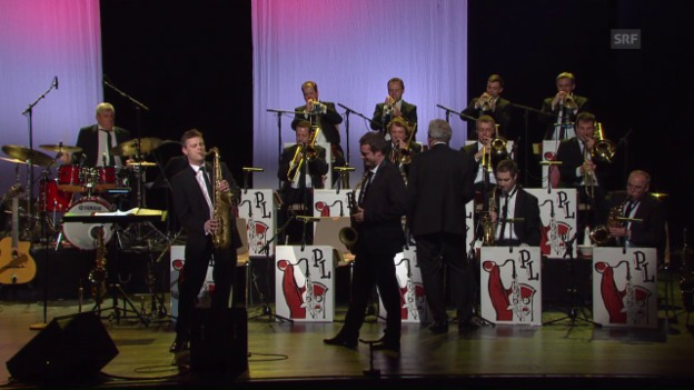 Video «Pepe Lienhard Big Band - Swing Live» abspielen