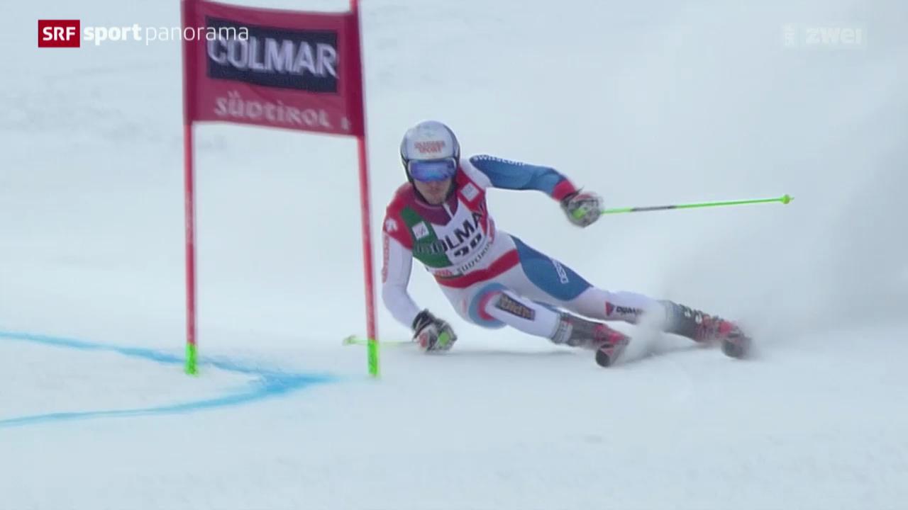 Ski: Die Schweizer beim Riesenslalom in Alta Badia