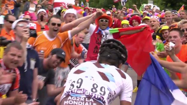 Video «Rad: Tour de France, Geschichte der Alpe d'Huez» abspielen