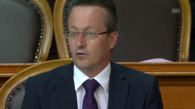 Video «Schmid: «Das Geschäft hat einen faden Beigeschmack»» abspielen