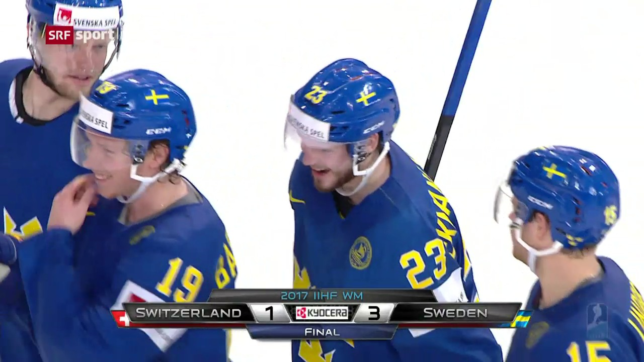 Die Live-Highlights bei Schweiz gegen Schweden