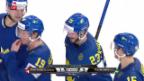Video «Die Live-Highlights bei Schweiz gegen Schweden» abspielen