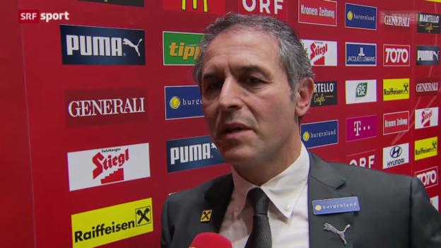 Video «Fussball: Koller spricht über seine Entscheidung» abspielen