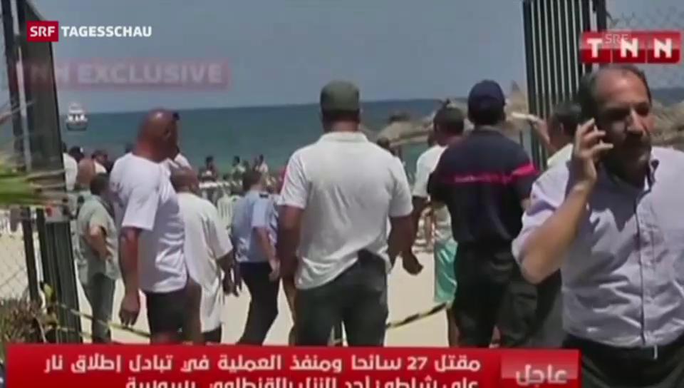 Anschlag in Sousse (Tagesschau 18 Uhr)