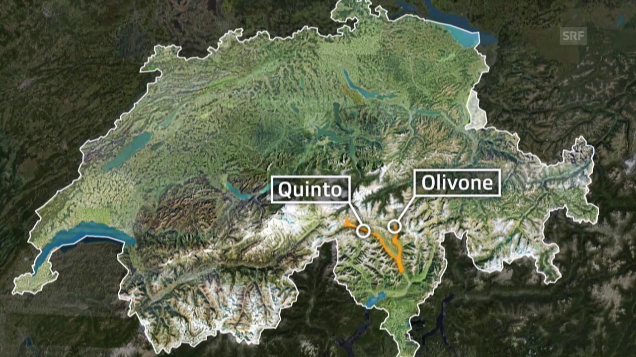 Tour de Suisse: 3. Etappe Quinto - Olivone