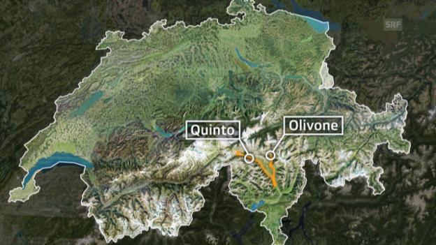 Video «Tour de Suisse: 3. Etappe Quinto - Olivone» abspielen
