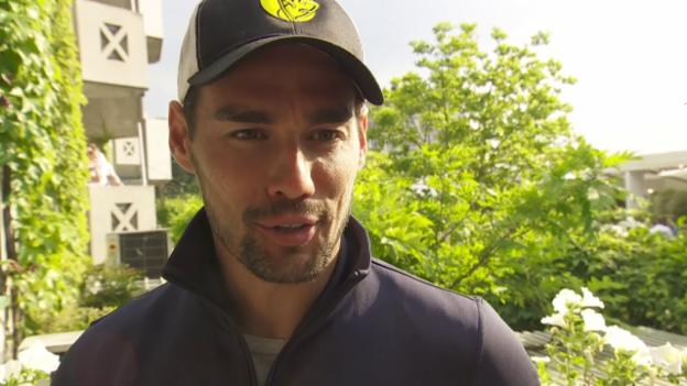 Video «Wawrinka-Gegner Fognini: «Spiele für Federico und Flavia»» abspielen