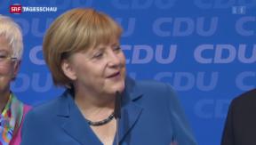 Video «Merkel wiedergewählt» abspielen