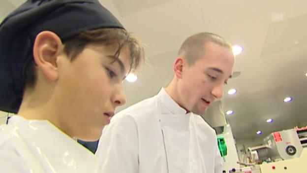 Video «Dossier Berufswahl: Schnupperlehre (3/4)» abspielen