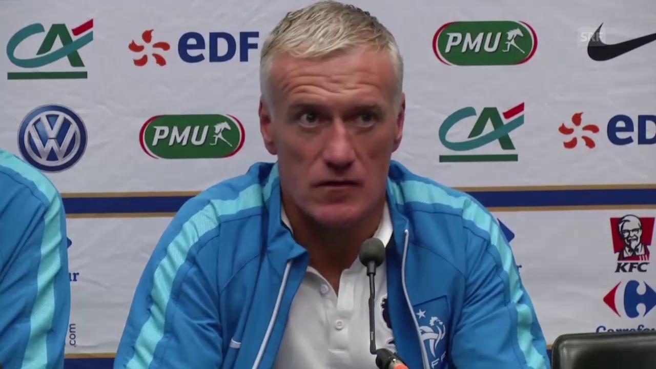 Fussball: Interview mit Didier Deschamps (Quelle: SNTV)