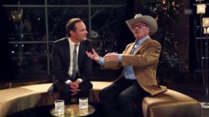 Video ««Deville»: «Alpen-Cowboy» Art Furrer trifft auf «Late-Night-Löli»» abspielen