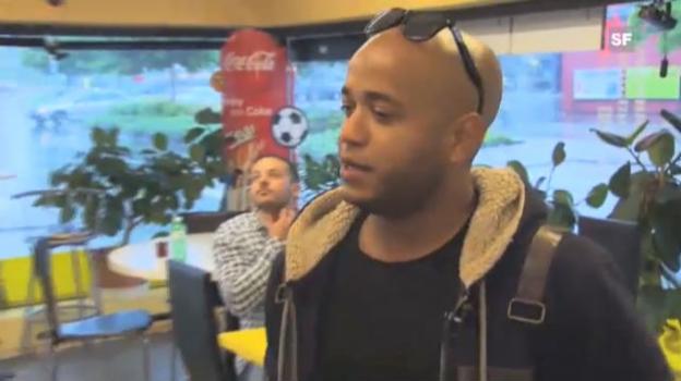 Video «Cover Me Outtakes: Kiko & Boro in der Döner-Bude» abspielen