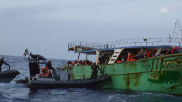 Video ««Europa oder Tod: Die Lebensretter im Mittelmeer»» abspielen