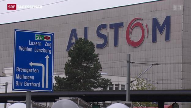 Video «Wie geht es bei Alstom Schweiz weiter?» abspielen