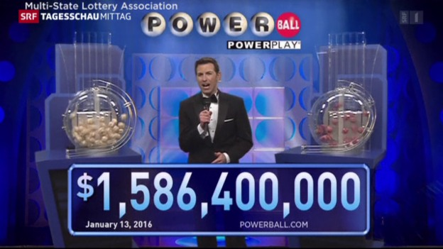 Video «Milliarden-Jackpot in den USA geknackt» abspielen