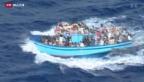 Video «Italien wird von Flüchtlingen überrannt» abspielen