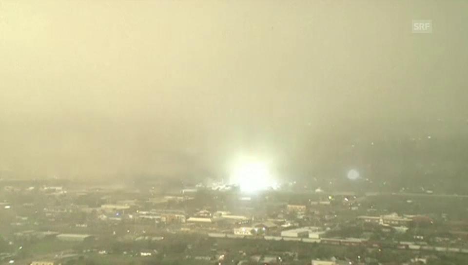Tornado über Moore (Oklahoma)