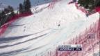 Video «Ski: Fahrt Fränzi Aufdenblatten («sportlive»)» abspielen