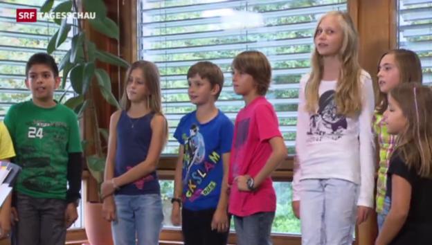 Video «Harmonisierung der Schulzeit harzt» abspielen