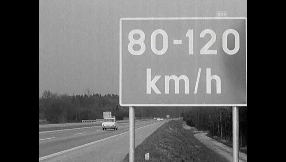 7. April 1965: Richtgeschwindigkeit statt Höchsttempo