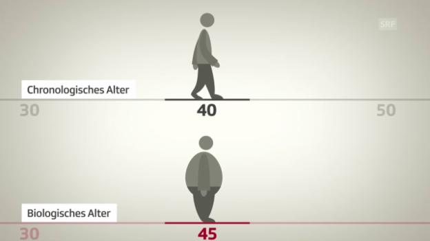 Video «Wie alt sind wir wirklich?» abspielen