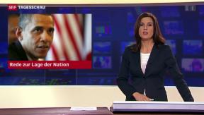 Video «Obama kurz vor seiner jährlichen Rede zur Lage der Nation» abspielen
