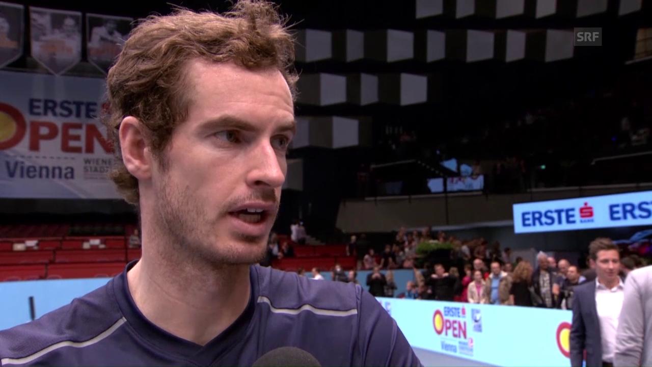 Andy Murray vor Paris-Bercy: «Ist noch ein weiter Weg»
