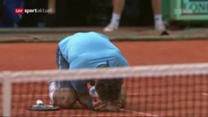 Video «Federer spielt 2019 wieder auf Sand» abspielen