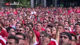 Video «Enttäuschte Schweizer Fans» abspielen