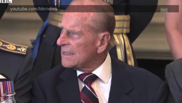 Video «Prinz Philip hat die Nase voll vom Warten» abspielen