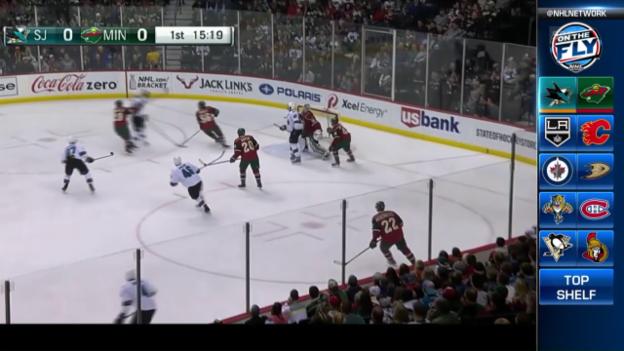 Video «NHL: Niederreiter darf dank Schützenhilfe von Josi jubeln» abspielen
