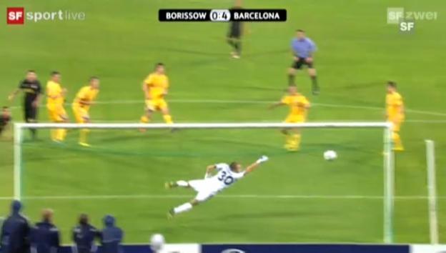 Video «Gruppe H: Borissow - Barcelona» abspielen
