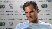 Link öffnet eine Lightbox. Video Federer: «Es lief von Anfang an wunderbar» abspielen
