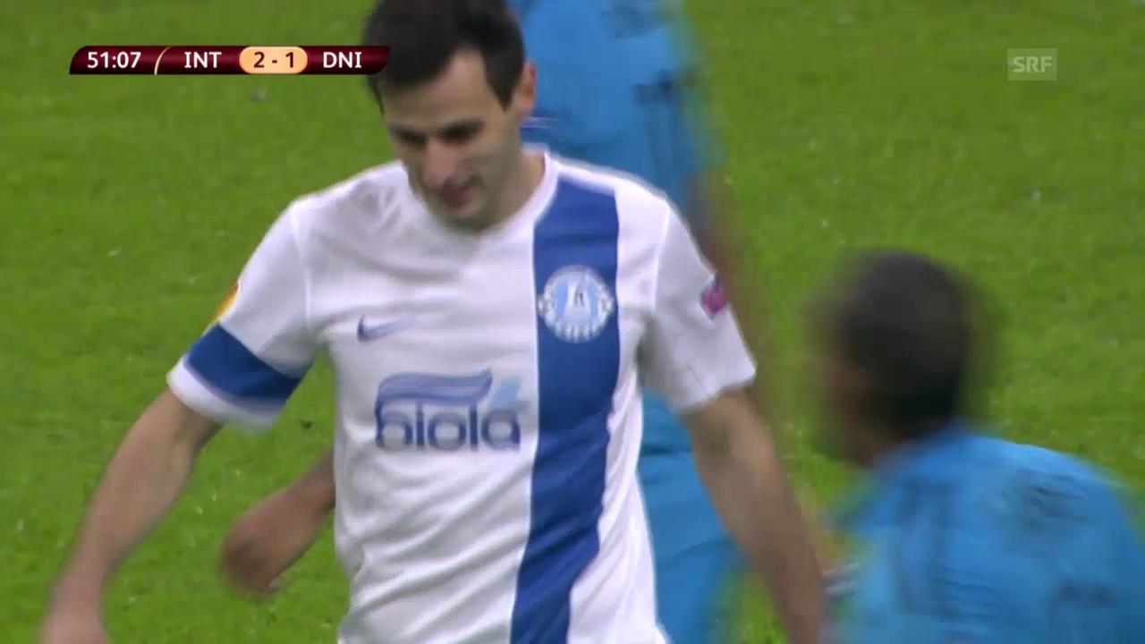 Fussball: EL, Inter-Dnjepr