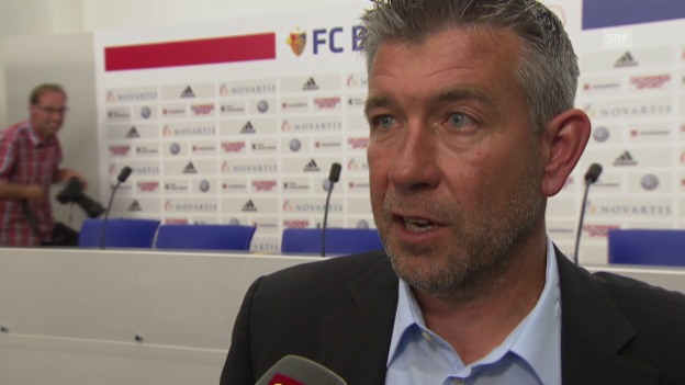 Video «Fussball: Super League, Interview Urs Fischer» abspielen