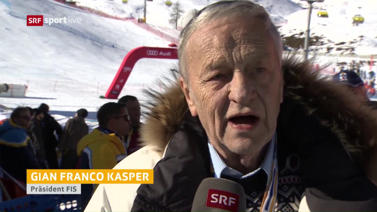 FIS-Präsident Gian-Franco Kasper blickt zurück