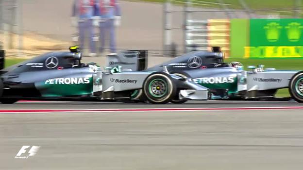 Video «F1: Das finale Duell zwischen Hamilton und Rosberg» abspielen