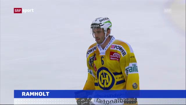 Eishockey: Ramholt zum EV Zug («sportaktuell»)