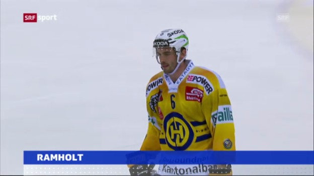 Video «Eishockey: Ramholt zum EV Zug («sportaktuell»)» abspielen