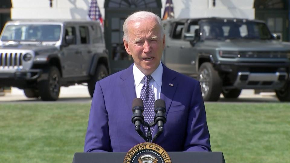 US-Präsident Biden will auf E-Mobilität setzen