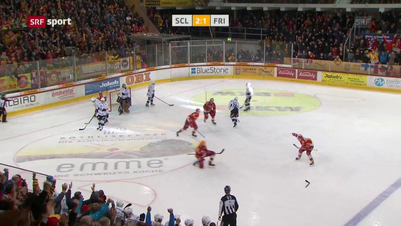 Langnau dreht die Partie gegen Freiburg spät