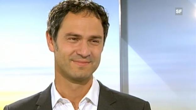 Video «Interview mit Daniele Ganser, Historiker/Energie-Experte» abspielen