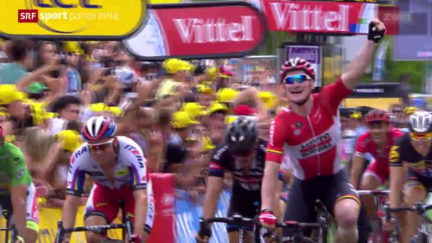 Video «Rad: Tour de France, 15. Etappe» abspielen